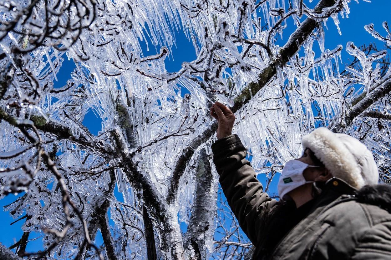 """Furtuni de zăpadă, în Brazilia. Martor: """"Am 62 de ani și nu am văzut așa ceva niciodată"""""""