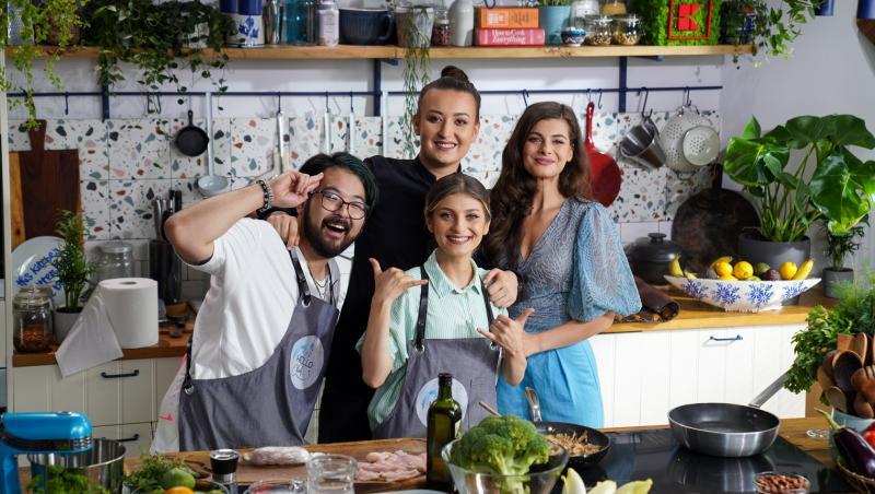 Duminică, 29 august, de la ora 14:00, cel mai nou proiect de cooking, Hello Chef, revine la Antena 1 cu un nou sezon.