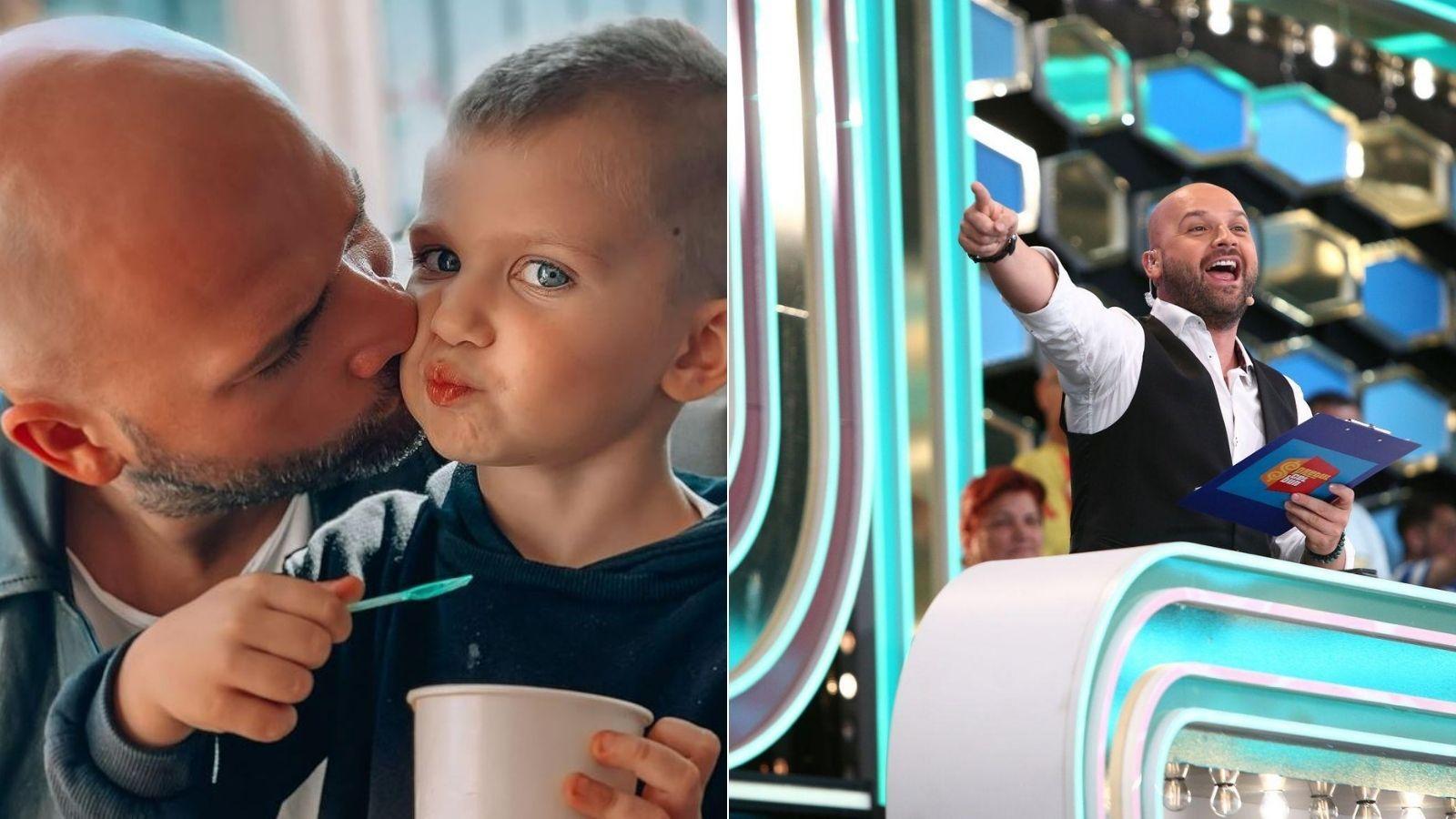 Andrei Ștefănescu, video-ul adorabil cu băiețelul său care a emoționat fanii. Cât de mare a crescut și ce pozne face Ayan