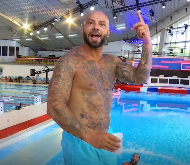 """Splash! Vedete la apă 2021. Giani Kiriță, campionul care a surprins cu o săritură de la 3 metri. """"S-a văzut lipsa de antrenament"""""""