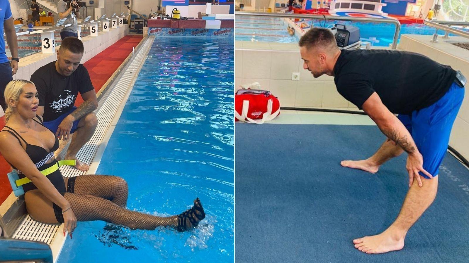 Cine e Cătălin Cozma, antrenorul vedetelor de la Splash! Vedete la apă. Cine formează echipa de antrenori