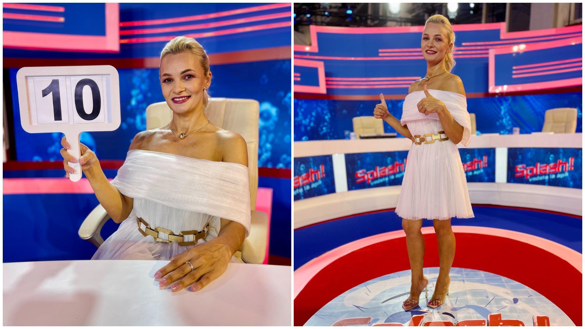 Clara Gherase va juriza alături de Nea Marin, Iulia Albu și Jean de la Craiova prestațiile concurenților Splash! Vedete la apă