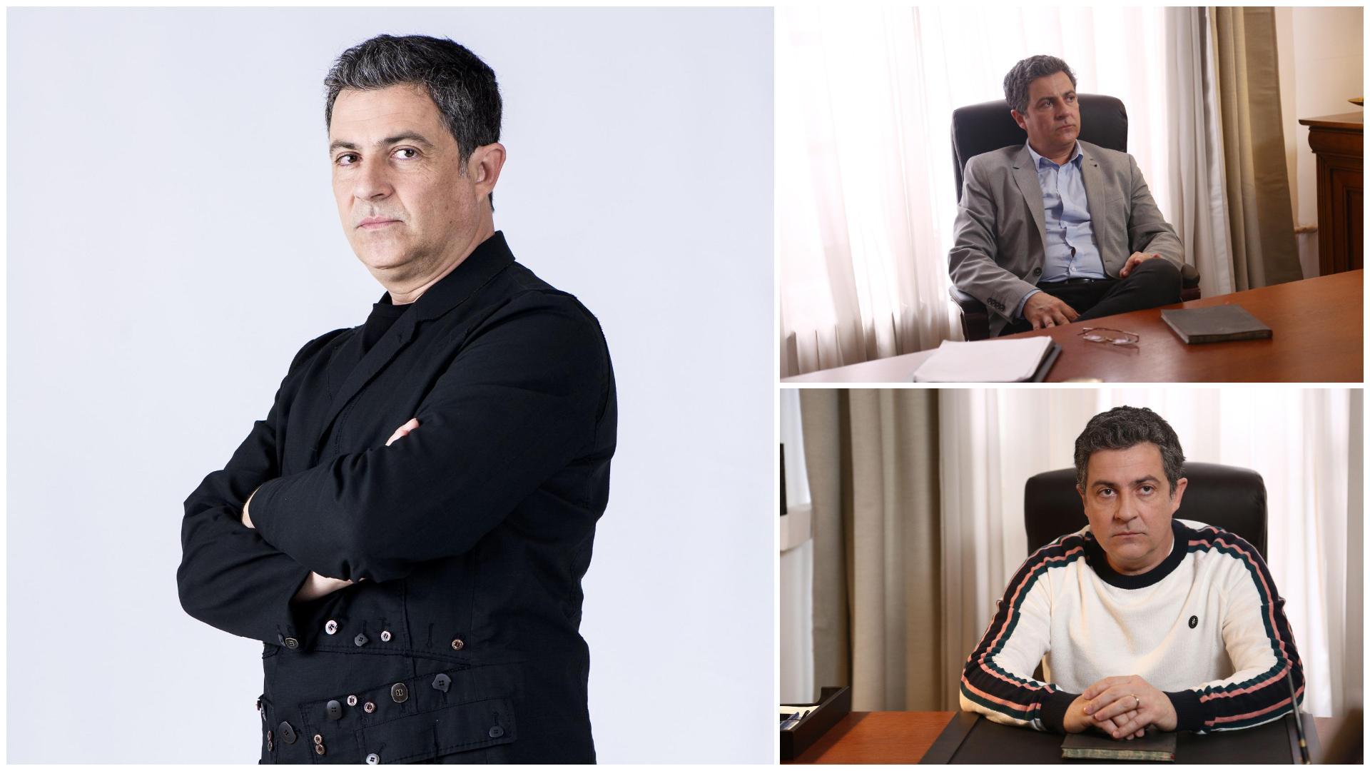 Imagine rară cu Mihai Călin. Cum arăta actorul din Adela în urmă cu 15 ani
