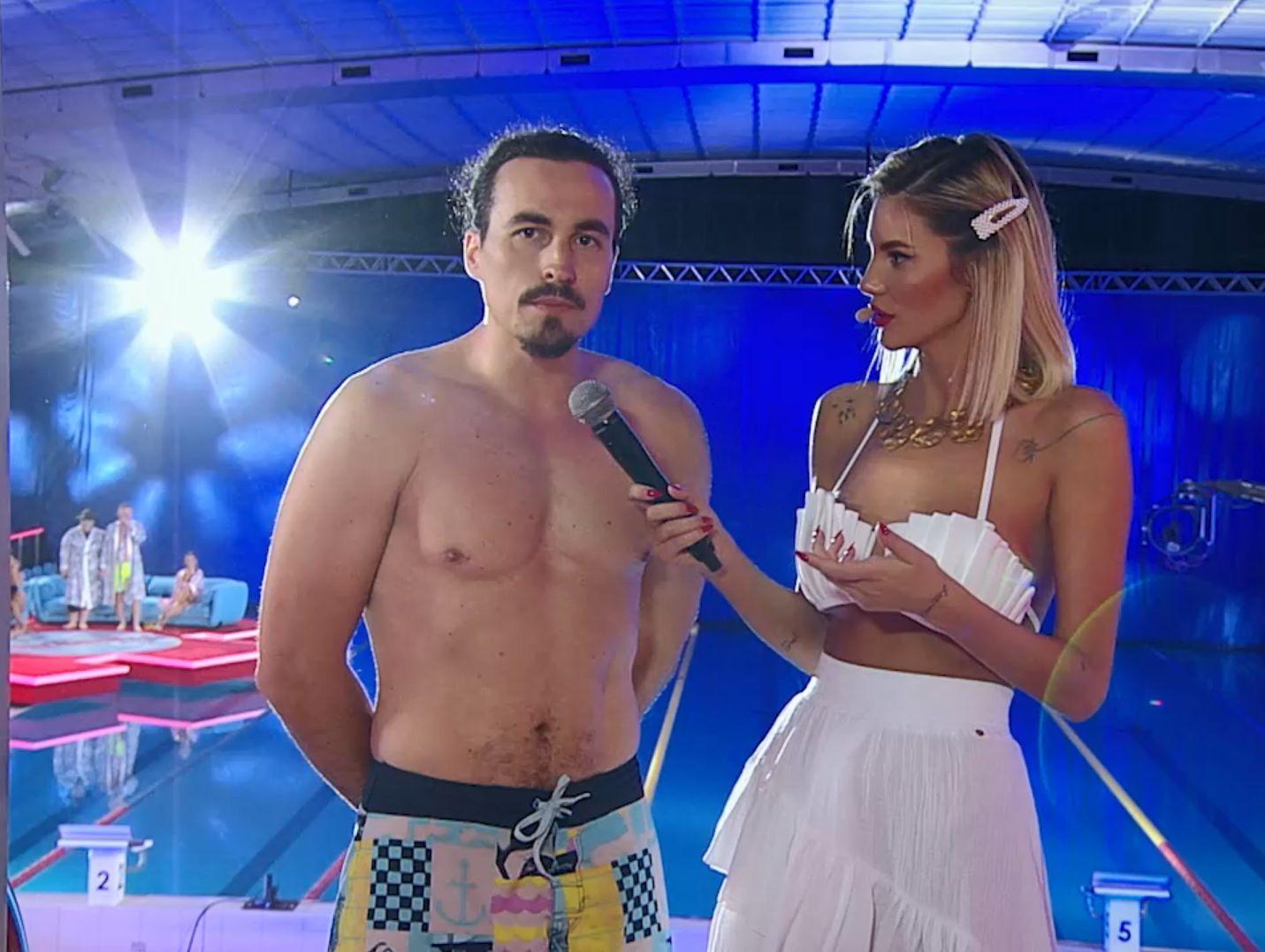 Splash! Vedete la apă, 28 august 2021. Alexandru Mincu, săritură cu dificultate de la 3 metri. Ce i-au spus jurații