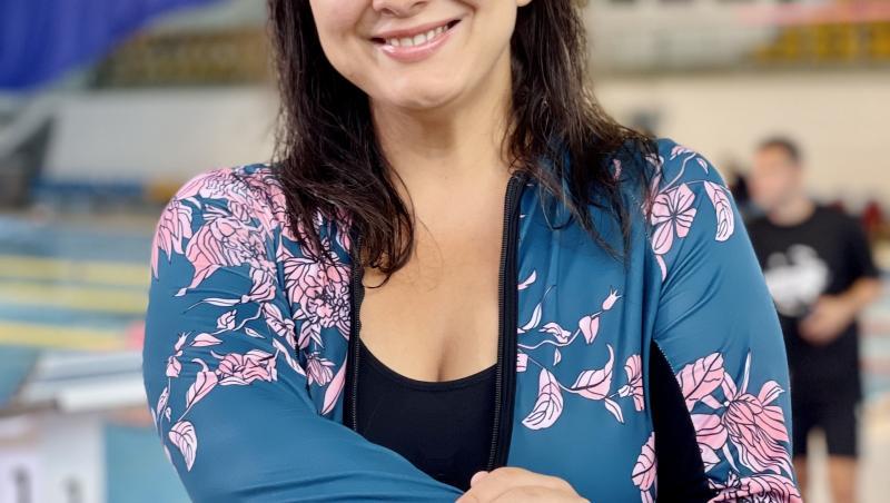 Maria Popovici a creat răsete la Splash! Vedete la apă