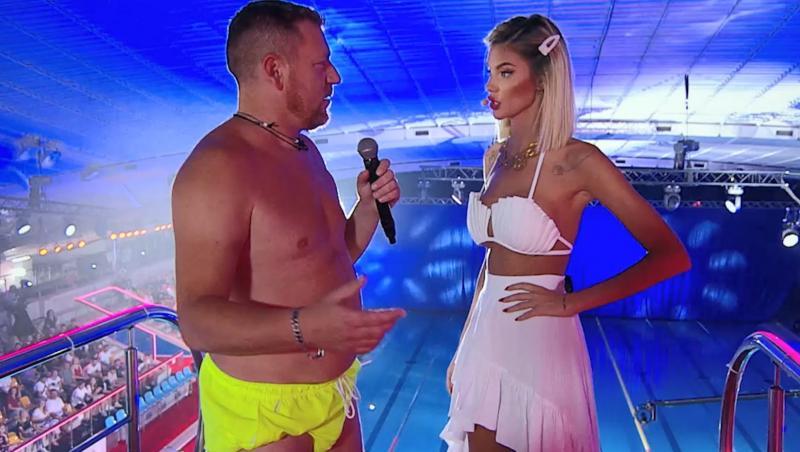 Sonny Medini, alături de Ramona Olaru, la Splash! Vedete la apă. Cât de bine s-a descurcat acesta