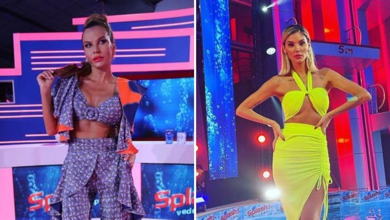 Anna Lesko și Ramona Olaru au arătat de vis în ultima ediție difuzată din Splash! Vedete la apă