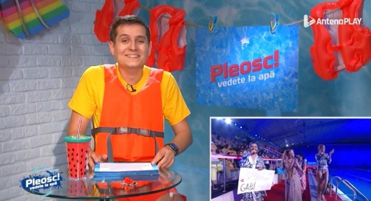 """Pleosc! Vedete la apă 2021, episodul 4. George Tănase a așteptat """"pleosc-ul perfect"""", dar altceva l-a amuzat copios"""
