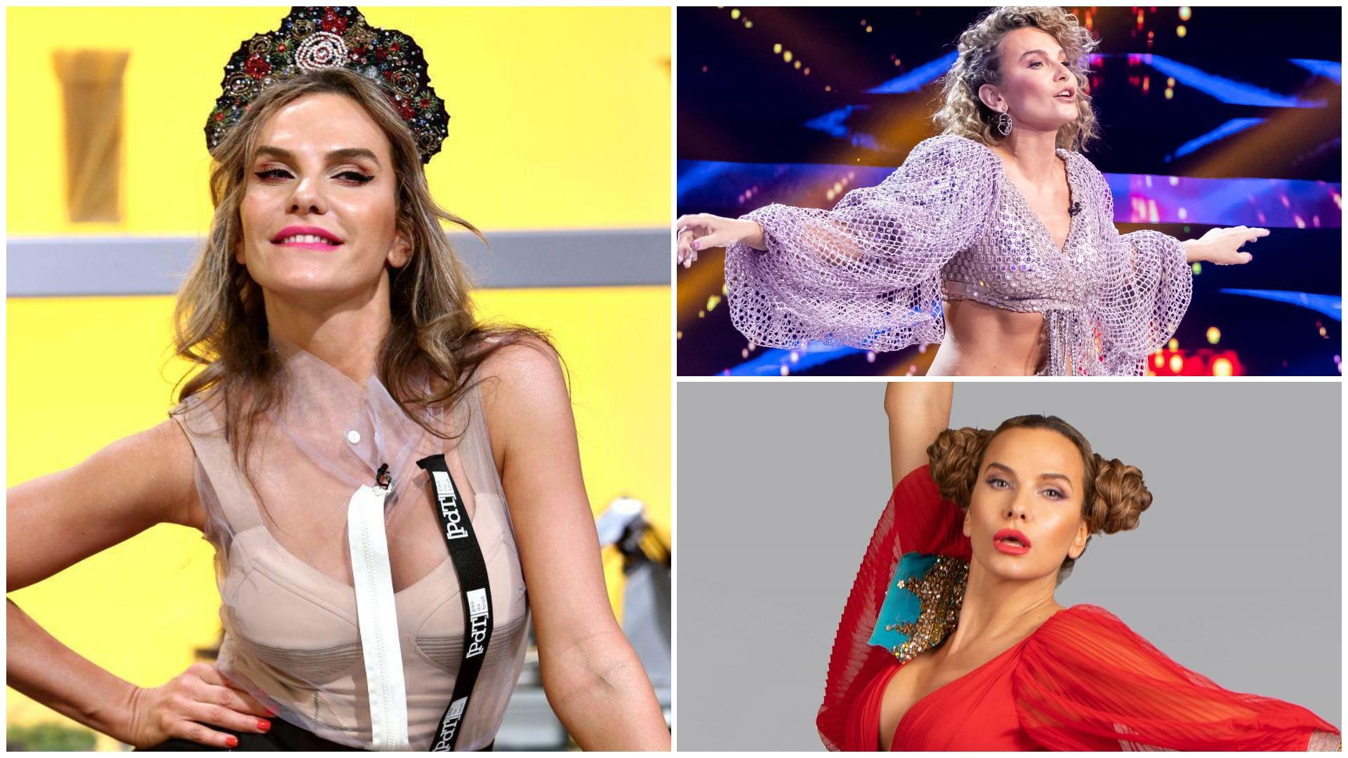 Cum arată frumoasa Anna Lesko în costum de baie la 42 de ani