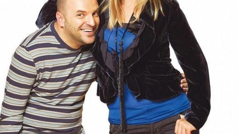 Cristina Cioran, alături de Dan Capatos
