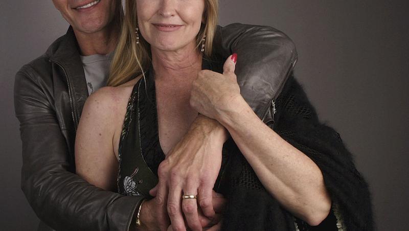 Patrick Swayze, împreună cu fosta lui soție, Lisa Niemi Swayze