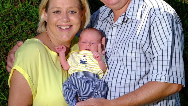 Stephen și Rachel Greenwood, soții care au reușit să aibă un copil după 21 de ani