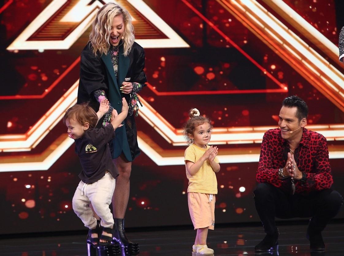 Delia are parte de doză dublă de energie la filmările X Factor, sezonul 10