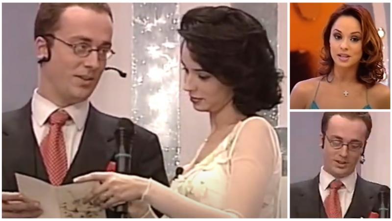 Colaj cu Mihai Răzuș și Andreea Marin, în 1999