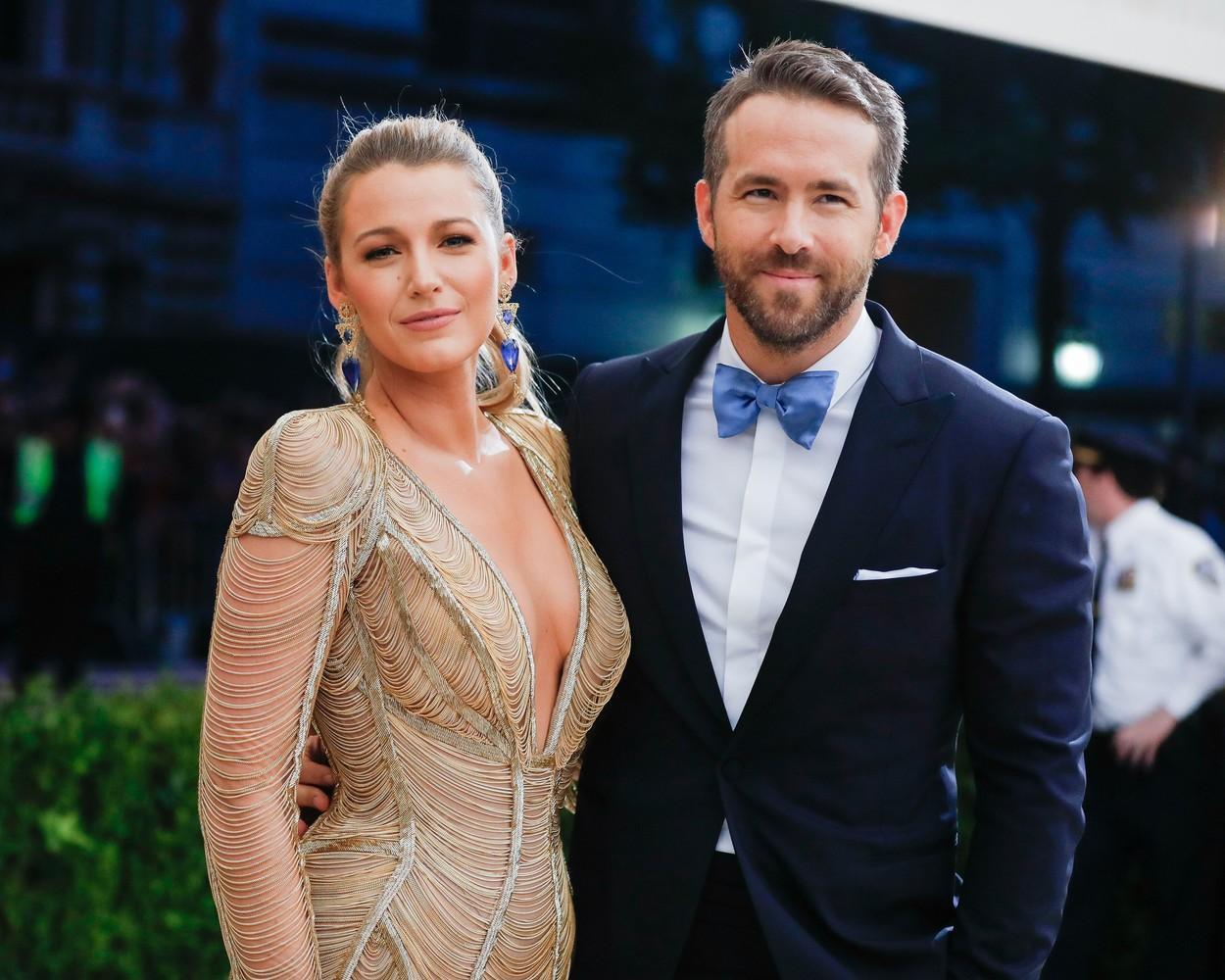 Rochia decupată a lui Blake Lively care l-a făcut pe soțul ei, Ryan Reynolds, să nu-și mai ia ochii de la ea. Cum arată actrița