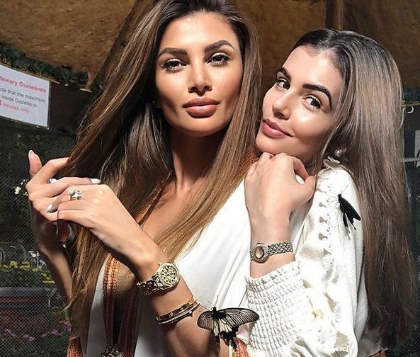 """Monica Gabor, Ramona Gabor și o prietenă, """"petrecere în pijamale"""", în Dubai. Cum se distrează fosta doamă Columbeanu"""