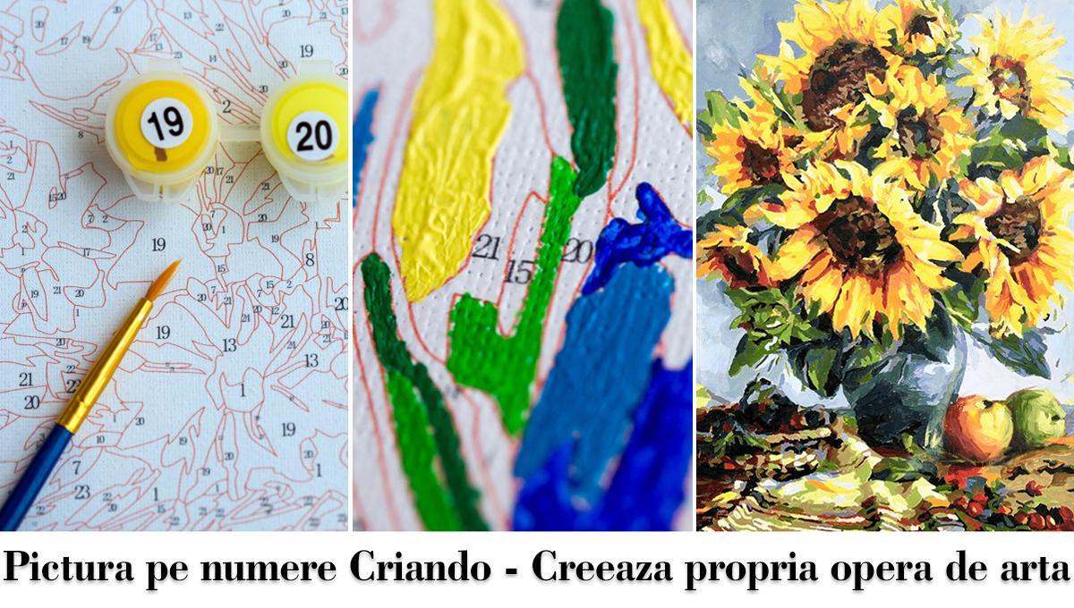 (P) Pictura pe numere: artă pentru toți, cu multe beneficii!