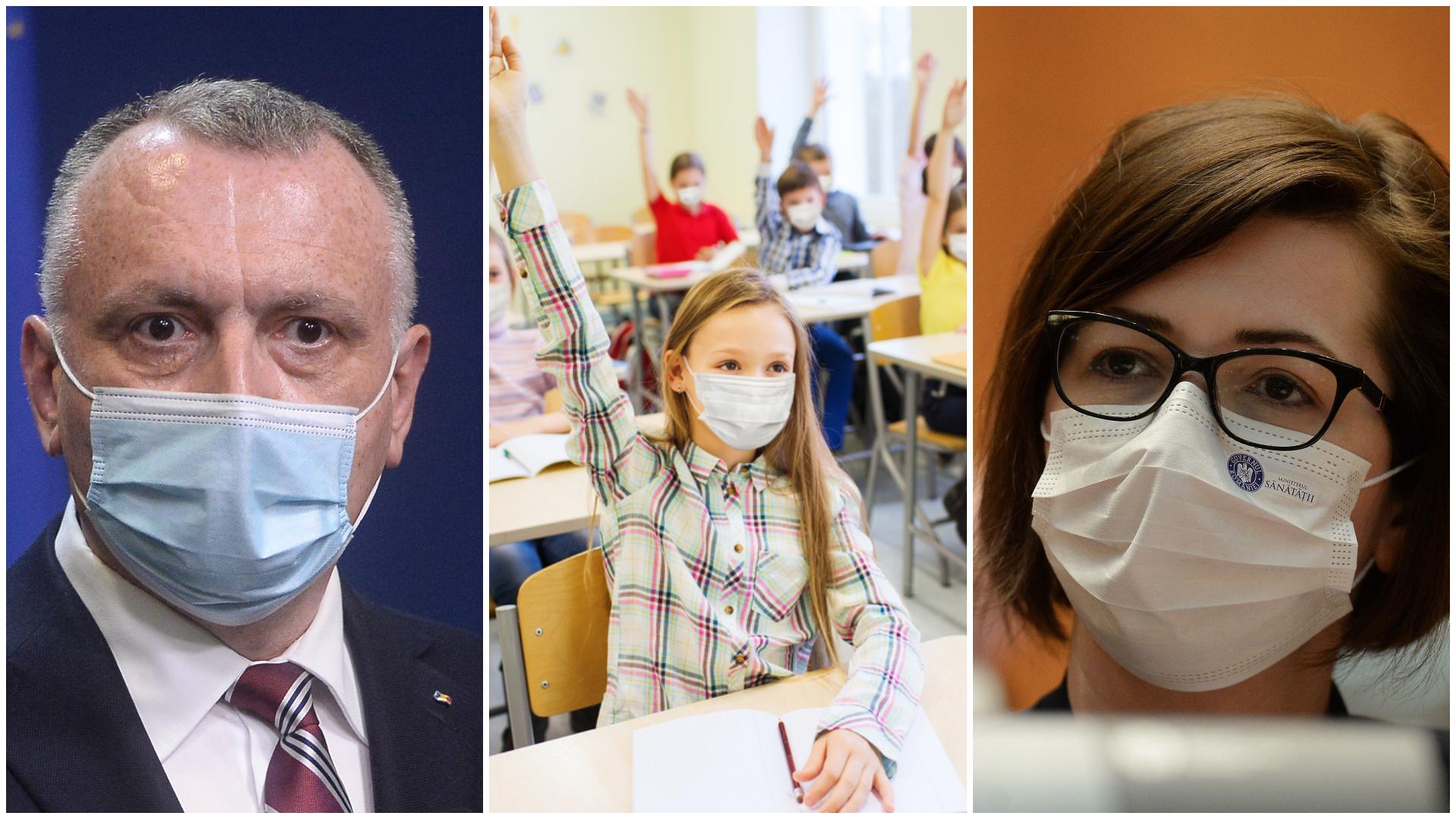 Ce se va întâmpla dacă într-o sală de clasă va apărea un caz de Covid-19. Regulamentul începutului de an școlar