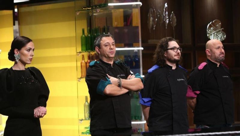 Sorin Bontea a fost liderul echipei verzi în sezonul 9 Chefi la cuțite