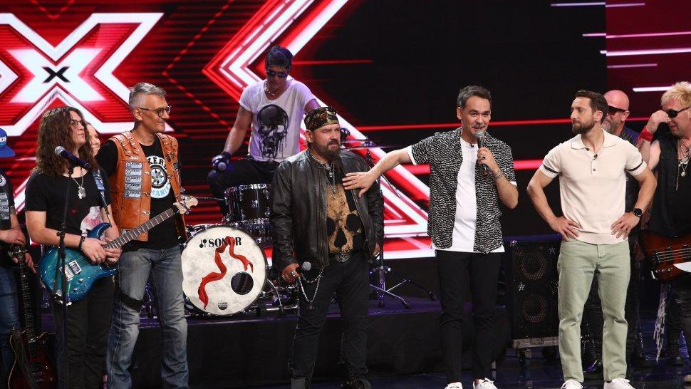 Cargo și Bikers for Humanity, moment impresionant la X Factor, astăzi, de la 20.30, la Antena 1