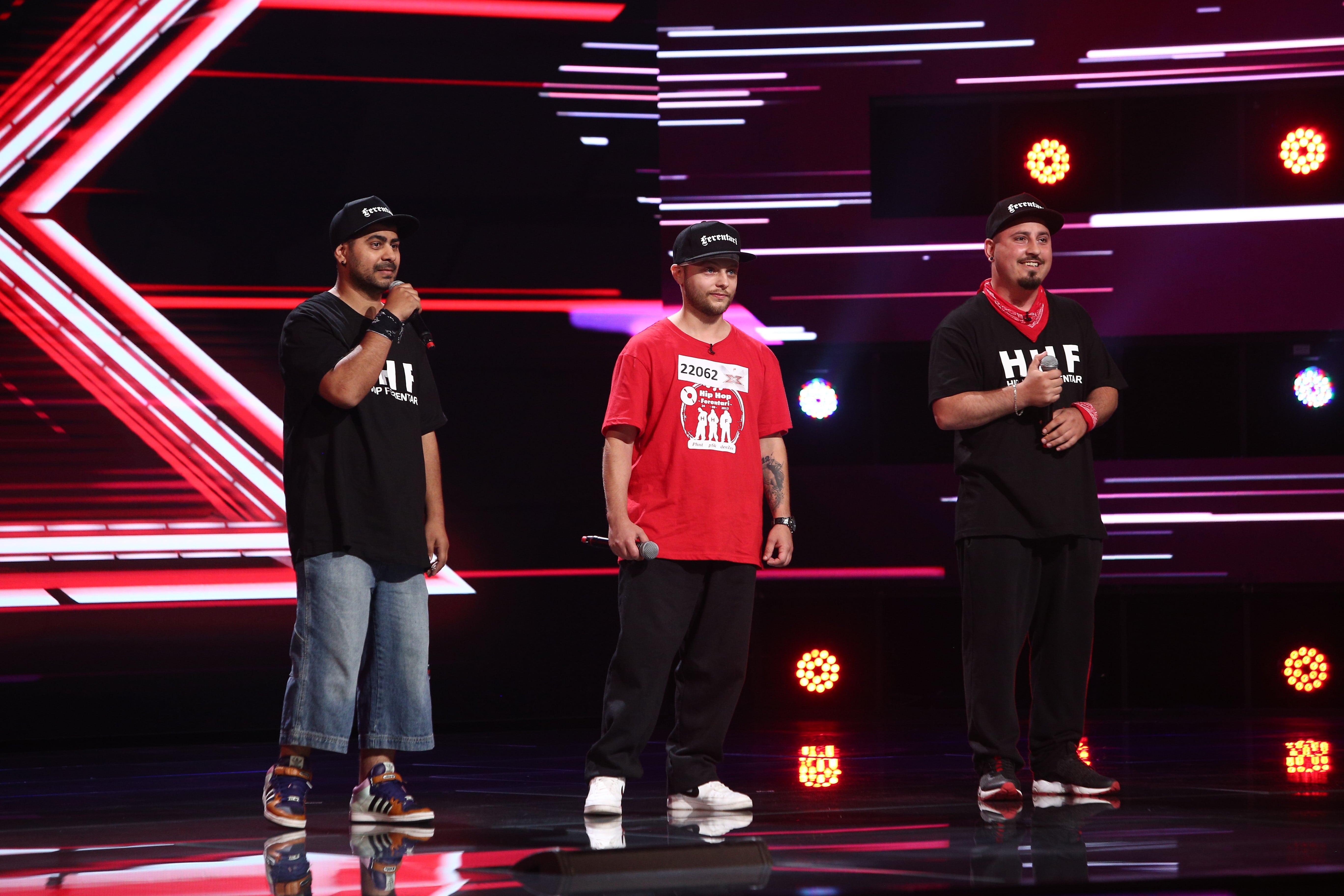 hip hop ferentari la x factor
