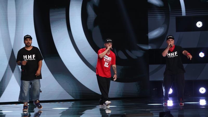 X Factor 2021, 10 septembrie. Trupa Hip Hop Ferentari a pus povestea lor în versuri cu o piesă compoziție proprie