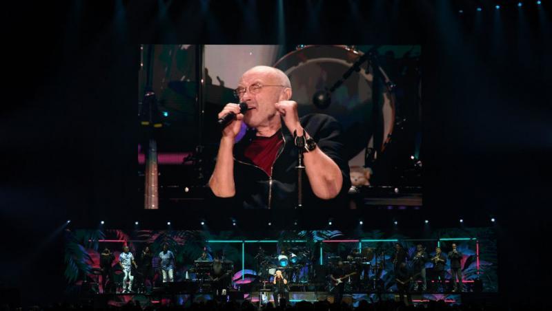 Phil Collins, într-un concert