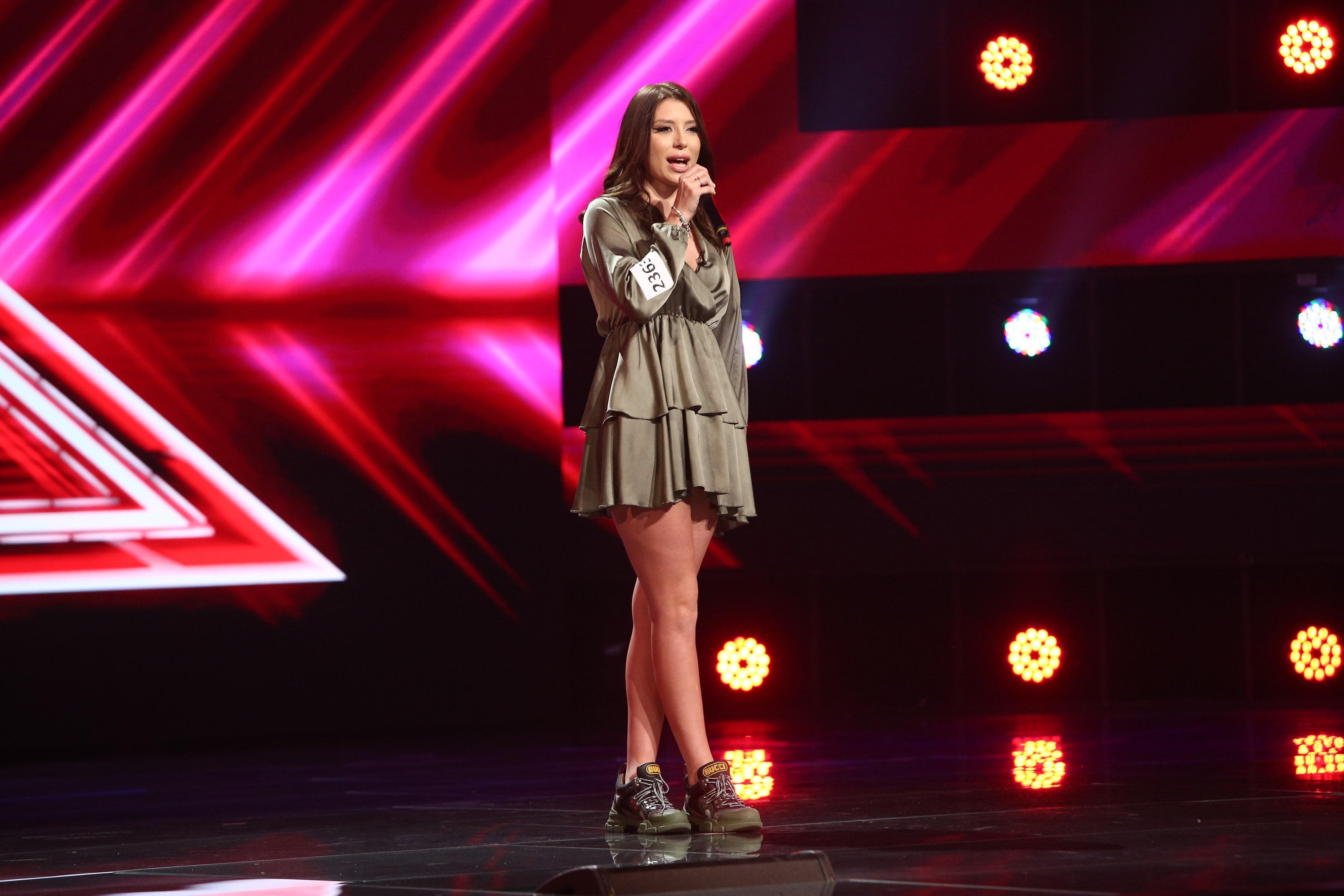 X Factor 2021, 10 septembrie. Rebeca Drăgan a impresionat cu prestația ei după ce a cântat piesa I don't wanna to be you anymore