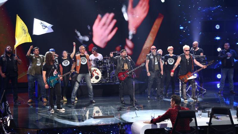 Cargo și Bikers for Humanity au deschis cea de-a doua ediție X Factor cu un moment deosebit