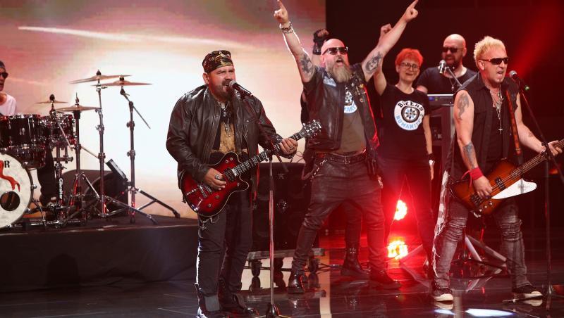 Cargo și Bikers for Humanity au adus pe scena X Factor un moment ce i-a emoționat pe jurați