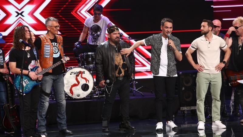 Momentul celor de la Cargo a făcut senzație pe scena X Factor