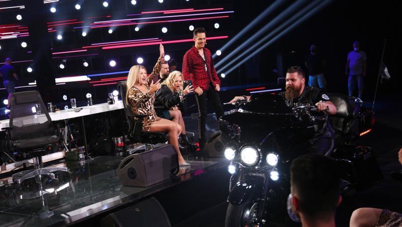 Jurații X Factor au fost impresionați inclusiv de motoarele celor de la Bikers for Humanity