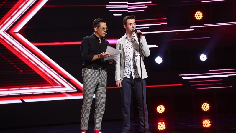 Claudiu Constantin Chichirău i-a atras atenția lui Ștefan Bănică la X Factor