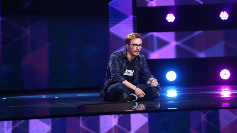 Jurații X Factor s-au emoționat la întâlnirea cu Claudiu Moise