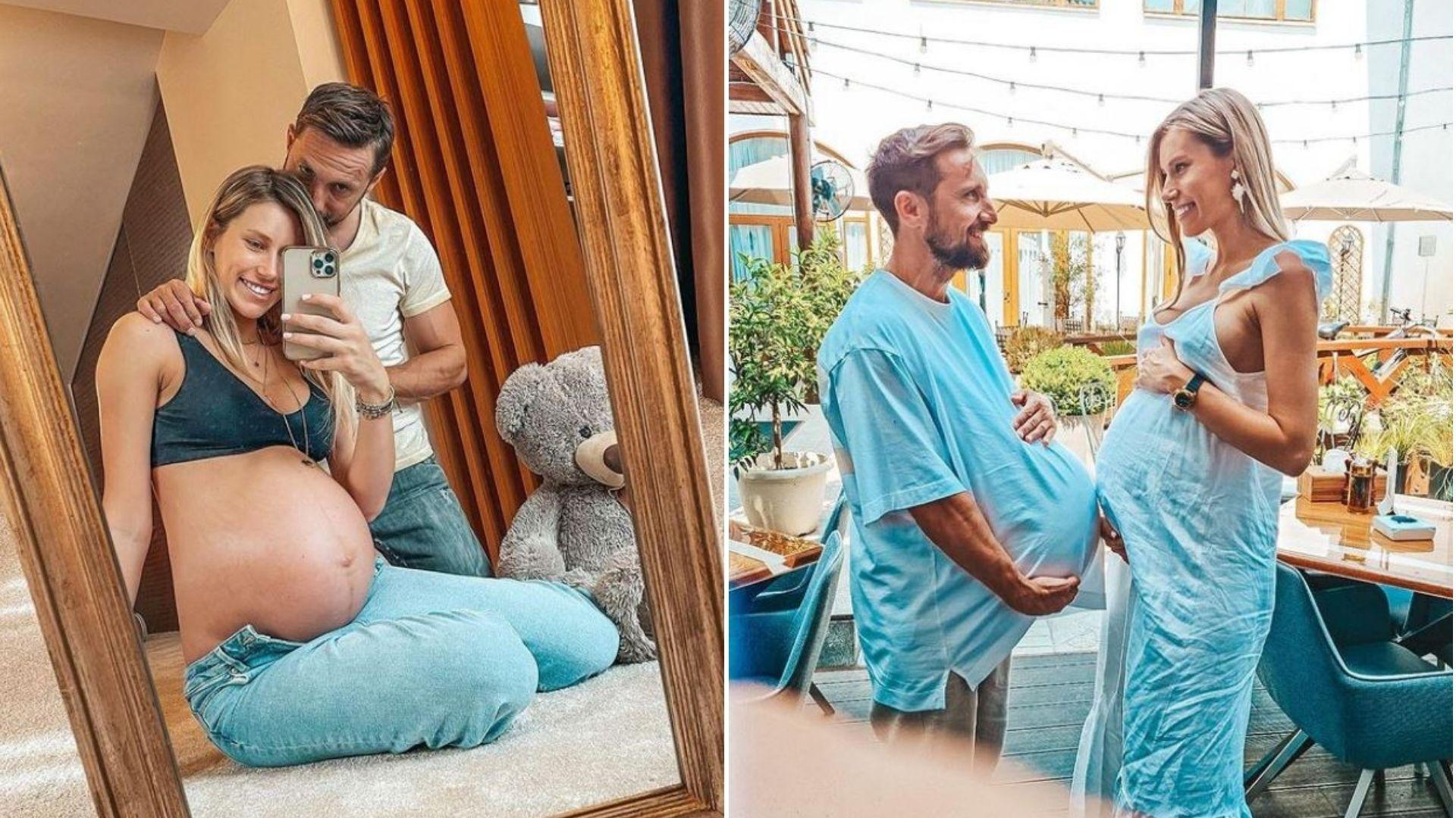 Gabriela Prisăcariu a născut. Primele imagini cu băiețelul ei cu Dani Oțil