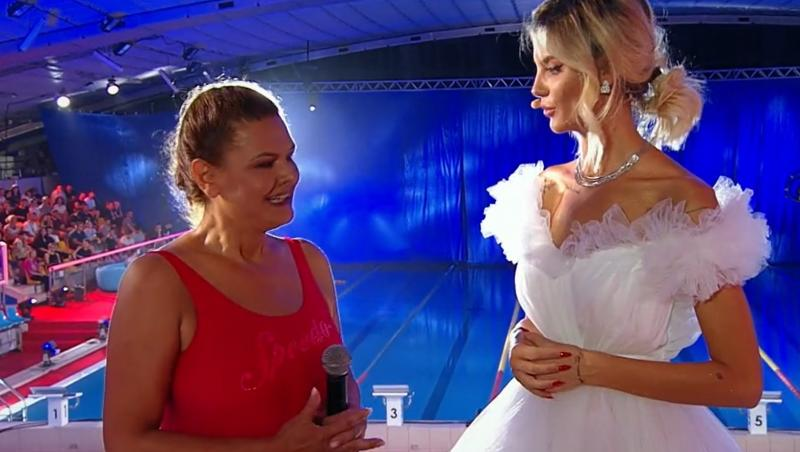 """Maria Buză a avut emoții în ediția 7 a emisiunii """"Splash! Vedete la apă"""", de la Antena 1"""