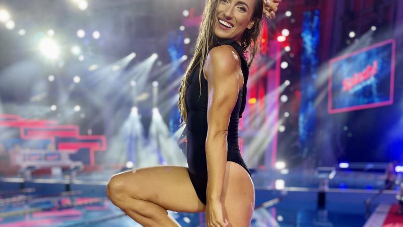 """Anca Bucur este ultima concurentă care s-a calificat în finala emisiunii """"Splash! Vedete la apă"""" de la Antena 1"""