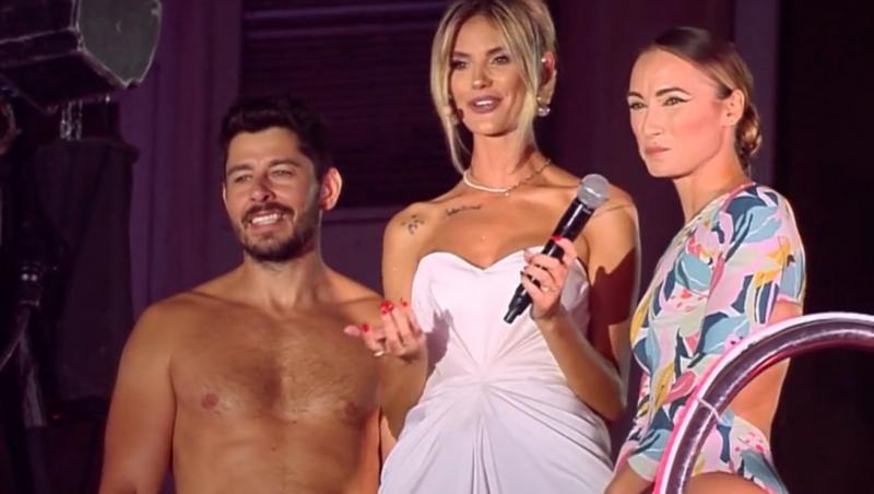 """În finala """"Splash! Vedete la apă"""", concurenta a făcut prima săritură împreună cu soțul său"""