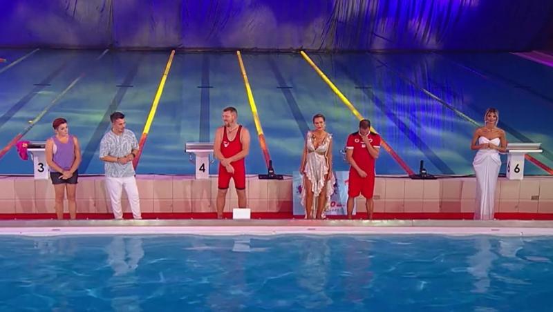 """Sonny Medini, Sandy Medini și Cristi Pulhac au așteptat cu sufletul la gură să afle cine a câștigat finala """"Splash! Vedete le apă"""" de la Antena 1"""
