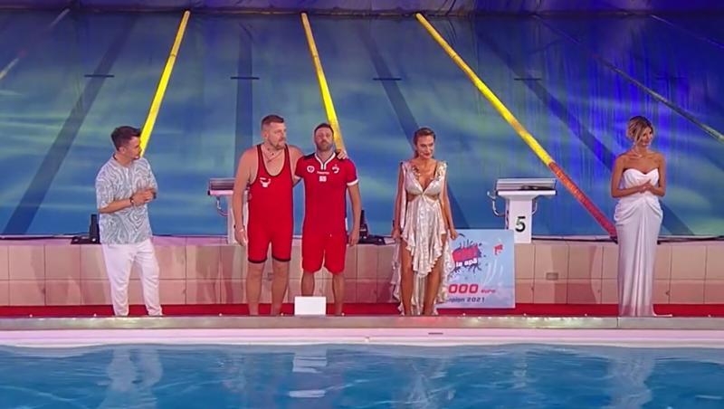 """Finaliștii au așteptat cu sufletul la gură să descopere cine a câștigat """"Splash! Vedete la apă"""""""