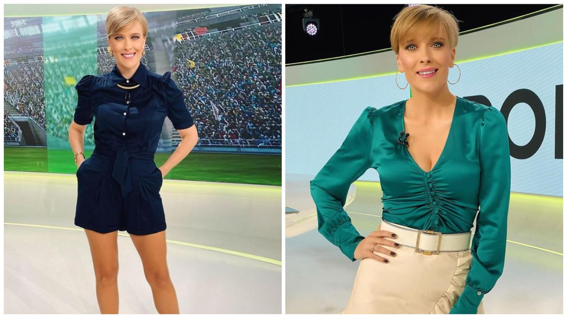 Cum arată Alexandra Tudor în costum de baie. Prezentatoarea Știrilor Sportive se mândrește cu un corp perfect