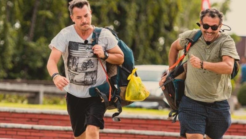 Răzvan Fodor și Sorin Bontea, la Asia Express