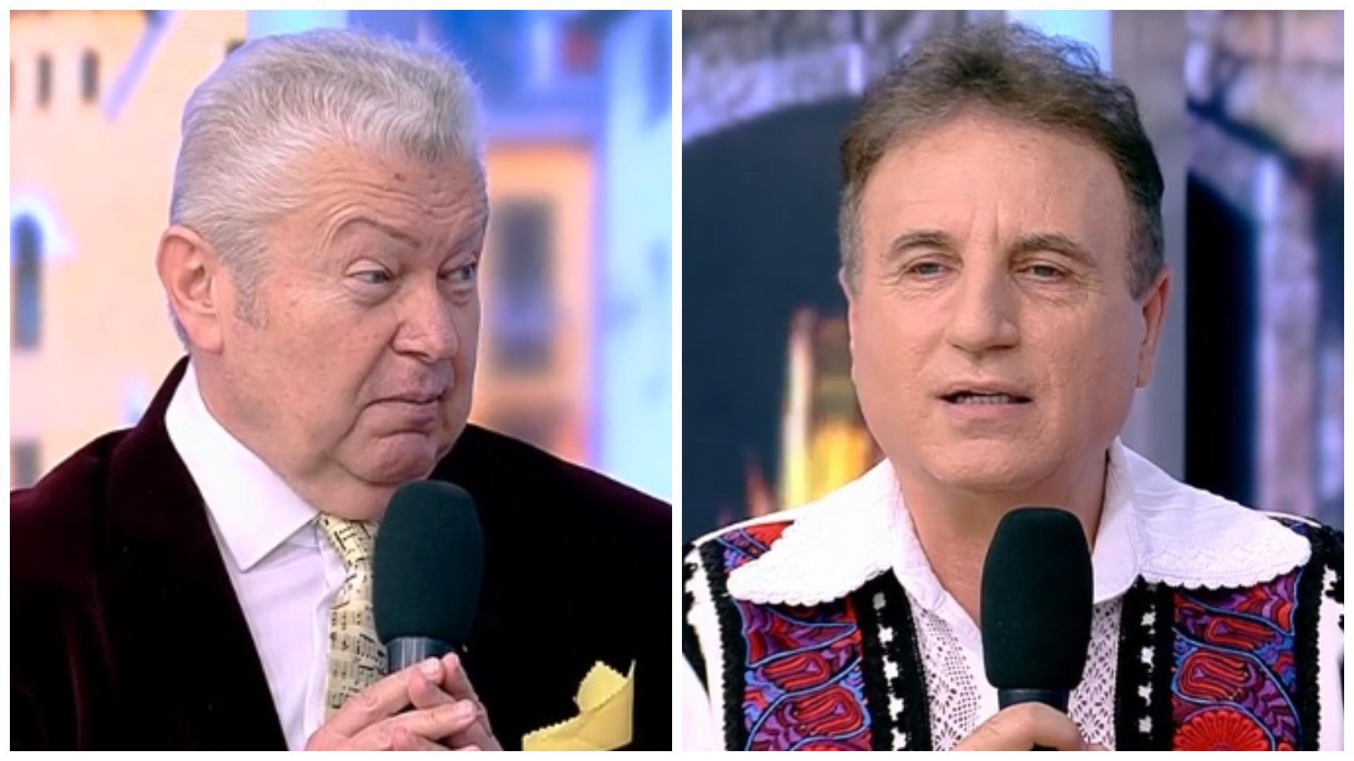 """Nou conflict în lumea cântăreților de folclor. Ce au """"de împărțit"""" Gheorghe Turda și Constantin Enceanu: """"Am avut și bodyguarzi"""""""