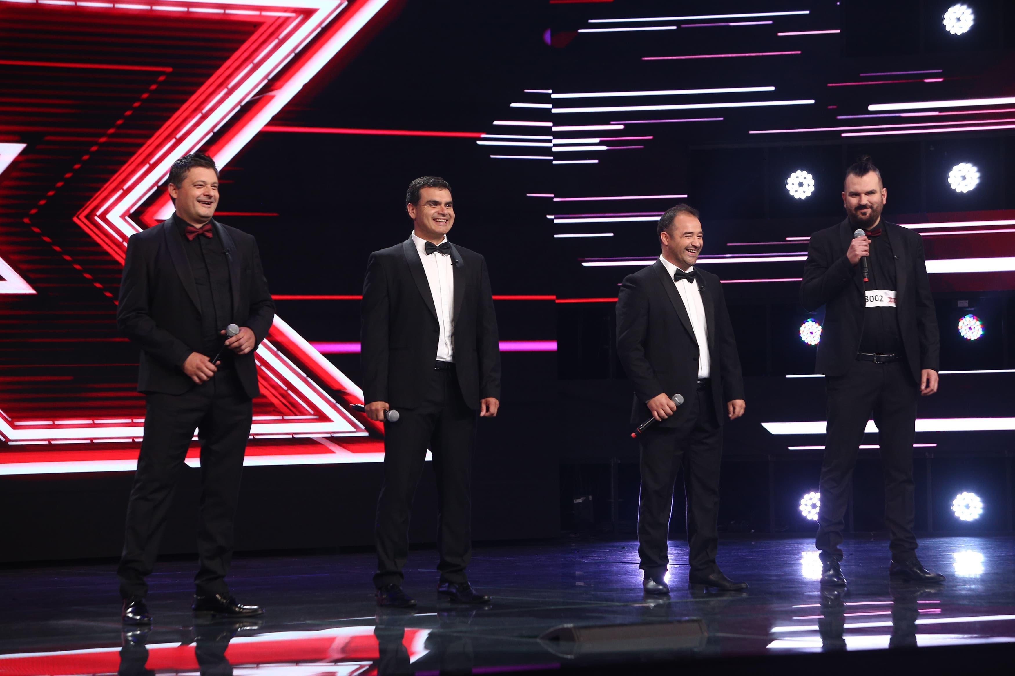 """X Factor 2021, 13 septembrie. Quartet Belcanto a încântat juriul cu armoniile speciale ale melodiei """"Ti Amero"""", de Il Divo"""