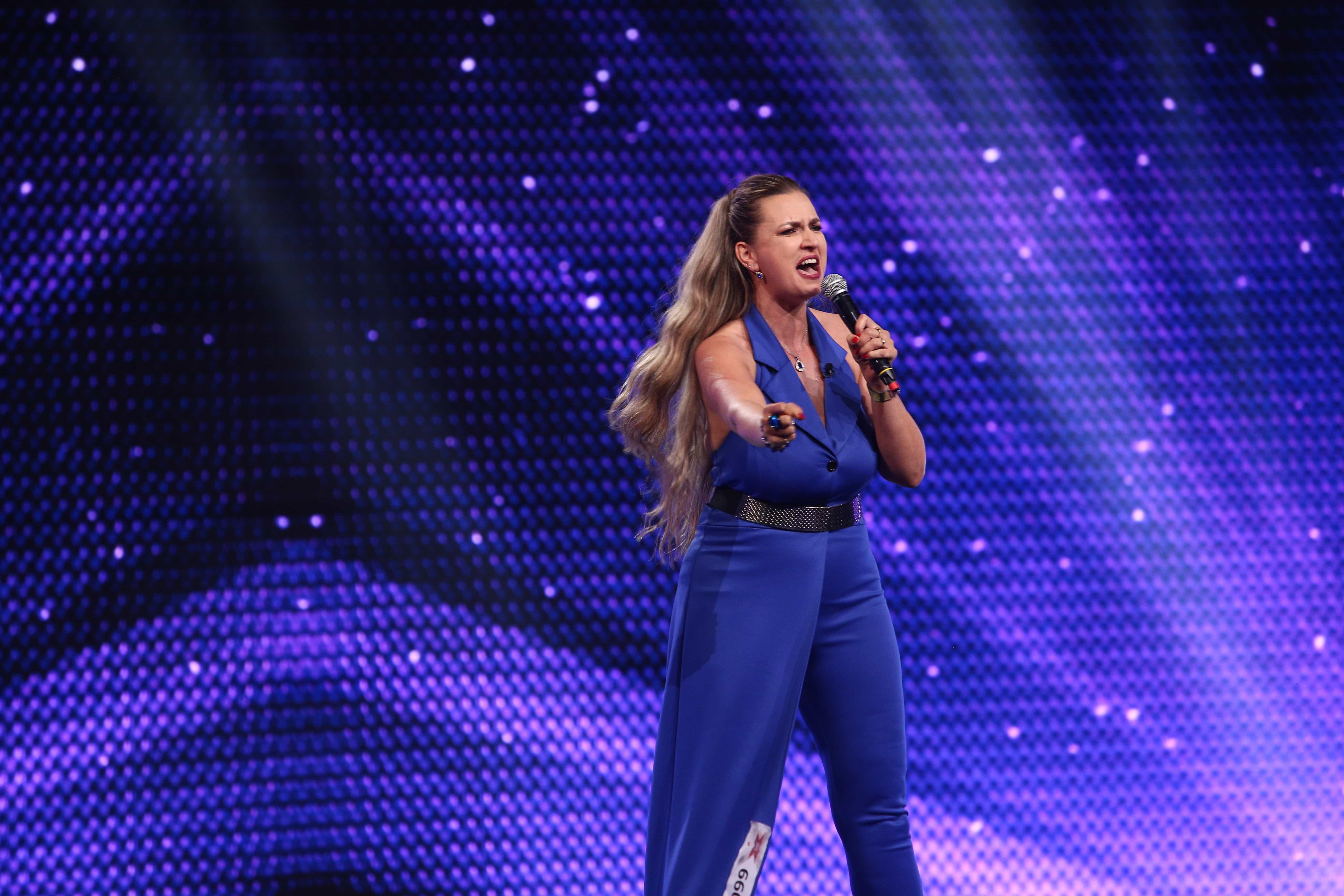 "X Factor 2021, 13 septembrie. Monica Silaghe a interpretat ""I'll Never Love Again"" - Lady Gaga și ""Without You""- Mariah Carey"