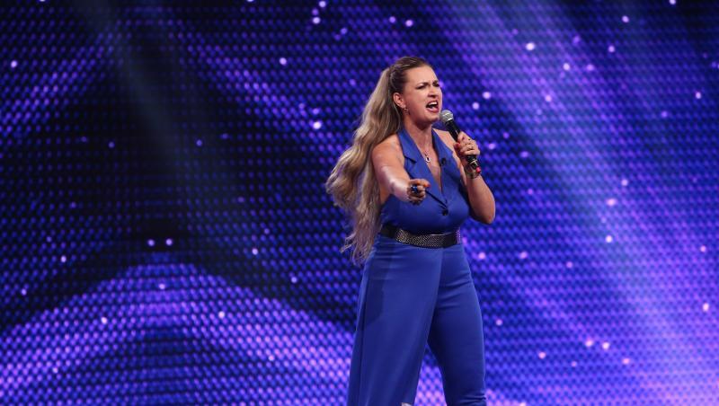 Monica Silaghe la X Factor sezonul 10