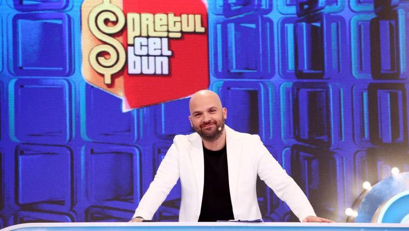 """Andrei Ștefănescu, prezentând """"Prețul cel bun"""""""