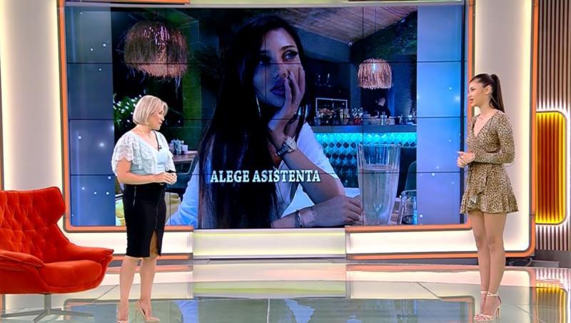 Mirela Vaida și Roxana Ferariu în platoul Acces Direct