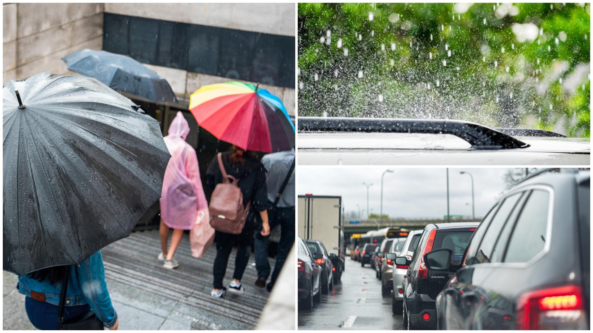Alertă ANM! Cod galben de ploi torențiale, descărcări electrice și grindină. Ce zone sunt afectate de avertizarea meteorologilor