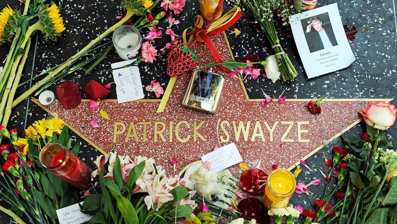 Steua lui Patrick Swayze